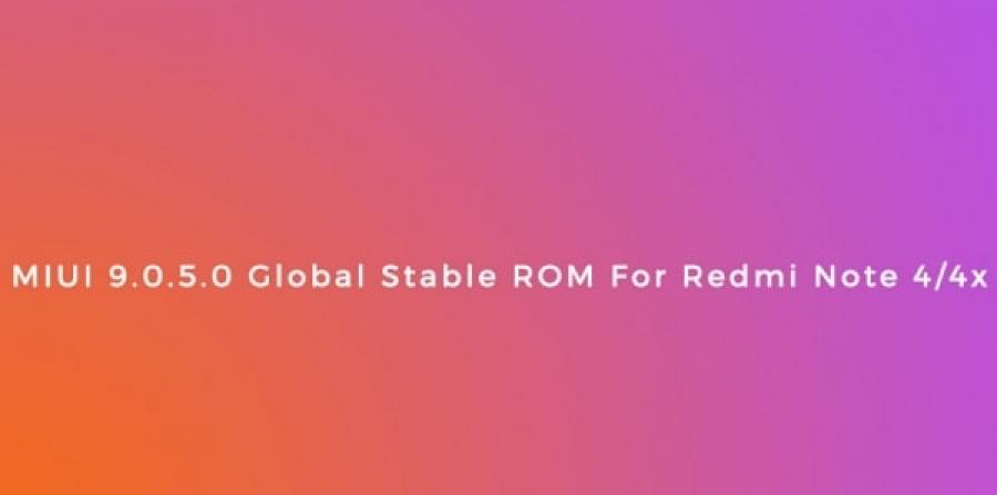 MIUI [MIUI 9] Cara Update miui 9 global stable V 9.0.5.0 NCFMIEI redmi 4X dan redmi note 4x