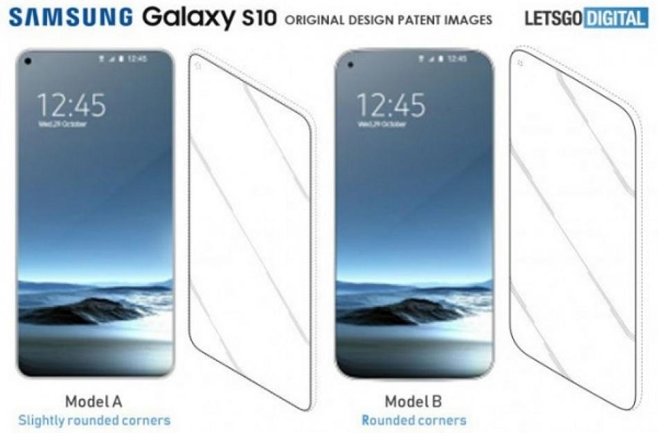 Desain samsung galaxy S10 muncul di Internet