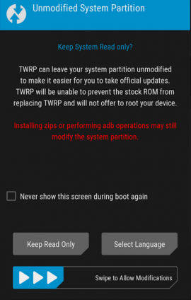 install twrp redmi note 4(SD)