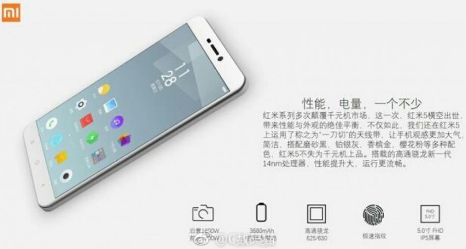 Xiaomi Redmi 5 mulai dirilis