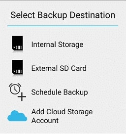 Cara backup android tanpa root